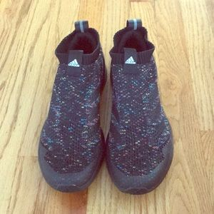 Rapid Run Adidas Laceless Running Shoes